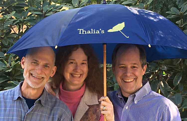 Dan, Cornelia and Terry of Thalia's Umbrella